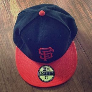 SF Giants New Era 59Fifty Fitted Hat 7 1/8